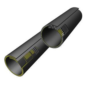 Mit einem Außendurchmesser zwischen 750 und 900 mm verdoppeln die neuen Megapipes die Förderströme im Vergleich zu konventionellen Rollgurten. Sie sind als Textilgurt oder Stahlseilgurt erhältlich