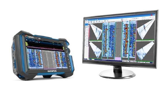 Hochmoderne Analysesoftware maximiert die Funktionen des OmniScan Prüfgeräts für Schweißnahtprüfungen