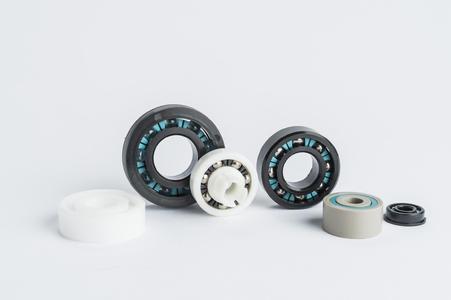Maßgeschneiderte Durobal®-Produkte von Trelleborg Sealing Solutions bestehen komplett aus Thermoplasten und Glas. Sie arbeiten reibungsarm, selbstschmierend und wartungsfrei.