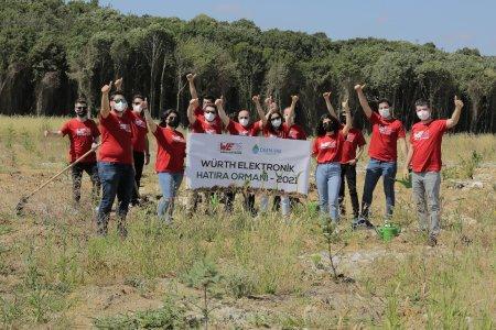 Zusammen mit der Stiftung OGEM-VAK realisiertWürth Elektronik ein Bewaldungsprojekt in derTürkei / Bildquelle: Würth Elektronik