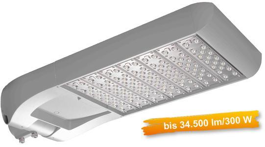 LED Universalleuchte für Wand- oder Mastmontage von 30W bis 300W / bis 34.5000 Lumen