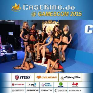 Eine gigantische gamescom 2015 feierte mit der finalen Caseking-Show und allen Partnern am Sonntag einen krönenden Abschluss