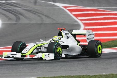 Jenson Button siegt beim Grand Prix Spanien in Barcelona