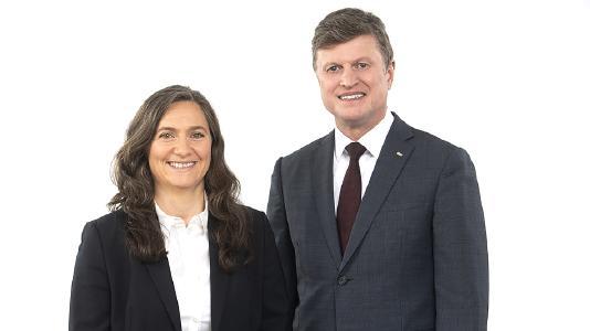 GTÜ-Geschäftsführung: Dimitra Theocharidou-Sohns & Robert Köstler (Foto: KDBusch/GTÜ)