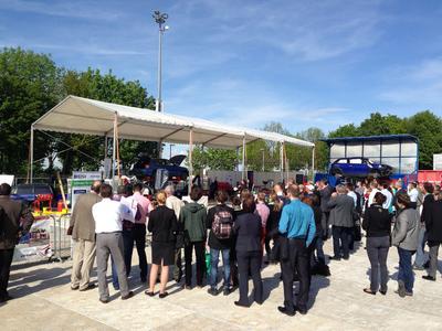 Live-Demo zur Fahrzeugentsorgung IFAT 2014 BDSV BMW KUMAsoft