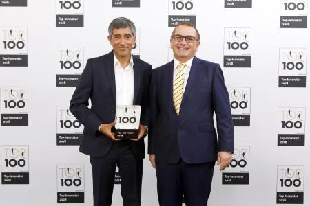 Erfolg bei TOP 100: Gustav Klein gehört zu den Innovationsführern 2018
