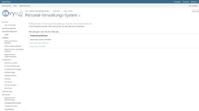 vysoft PVS digitale / elektronische Personalakte