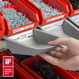 The Grab Containers can be removed as necessary and placed close to hand at the work bench