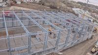 New construction of the global logistics center at Bizerba's Balingen company site