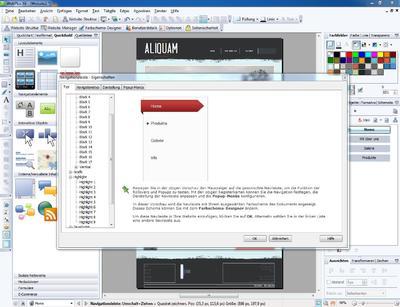Webplus x6 erleichtert professionelles und mobiltaugliches for Innendekoration vankann gmbh