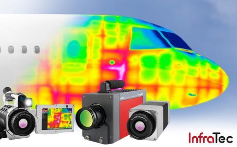 Zerstörungsfreie Prüfung für CFK-Bauteile mittels Wärmebildkameras