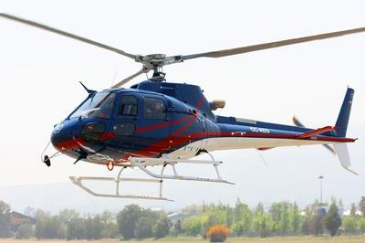 Eurocopter Chile Delivers the First Ecureuil AS350 B3e for the Americas to Servicios Aéreos Kipreos