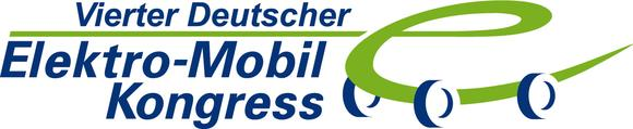 Logo des 4. Deutschen Elektro-Mobil-Kongresses  am 14.-15. Juni 2012 in Essen. Anmeldung unter www.e-mobil-kongress.de