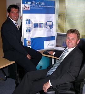 Geschäftsführer Markus Simmeth (re.) und Managing Consultant Alexander Fink.