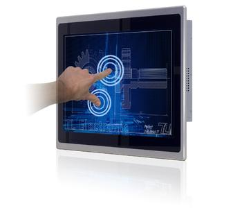 Multi-Touch wird Standard in der Panel-Industrie-PC-Linie SlimLine ID70-MTU