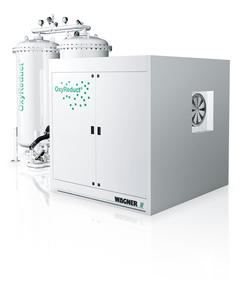 The OxyReduct system enables active fire prevention and ensures that the risk of fire developing is precluded. This makes Wagner a pioneer in preventative fire protection