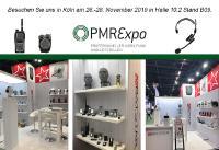 PMRExpo vom 26.-28. November 2019 in Köln