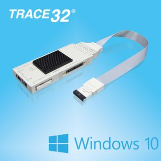 TRACE32® includes support for Windows 10
