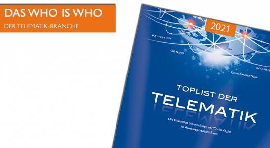 """Die neue Ausgabe des Fachbuchs """"TOPLIST der Telematik"""" erschient im Frühjahr 2021."""