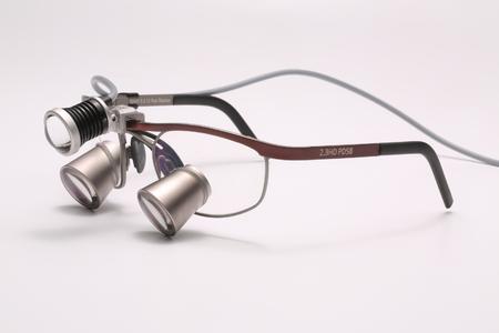 JADENT DIObright3 an ExamVision Lupenbrille