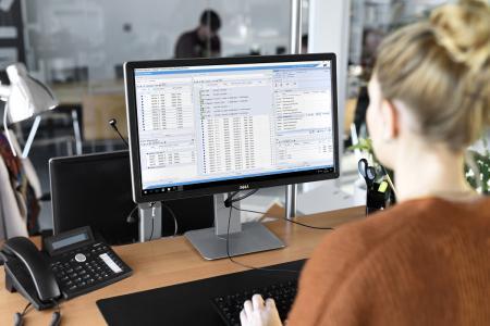 Die Grafische Disposition der Speditionssoftware WinSped ist jetzt auch auf die Bedürfnisse von Sammelgutspediteuren ausgerichtet. (Foto: LIS AG)