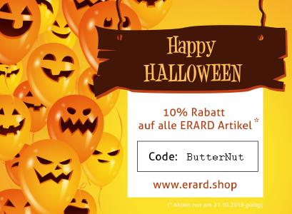 Erard Shop Halloween Aktion - 10% Rabatt!