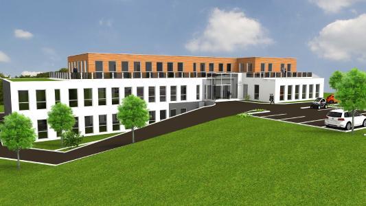 microtech Neubau in Hargesheim