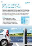 [PDF] Press Release: ISO 15118 Part 4 Conformance Test