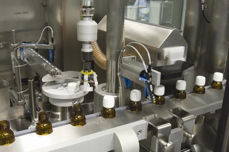 Filling machine OPTIMA Linoline - detailed view
