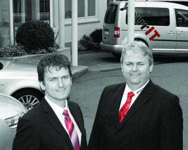 Die Geschäftsführer der yourIT GmbH Thomas und Ralf Ströbele (v.l.n.r.)