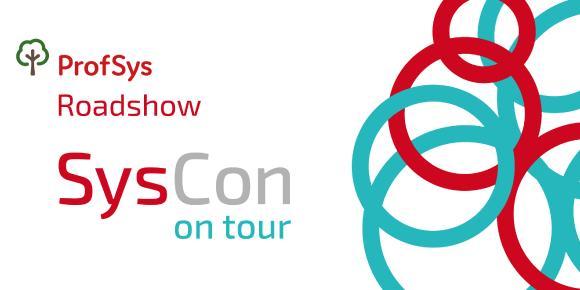 Konferenz Banner der SysCon on Tour