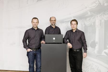Nubert Designteam: Miro Micklitz, Roland Spiegler, Markus Pedal