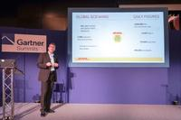 SER-Kunde Martin Treder, Global IT Manager bei DHL Express, stellte sein Doxis4 Global Imaging Archive vor