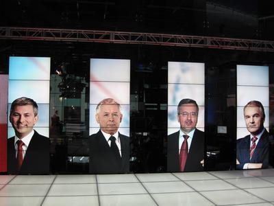 EYE-LCD-4600-SN in TV Studio
