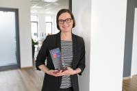 apsolut HR-Managerin Wiebke Arning ist stolz auf die Auszeichnung als einer der besten Arbeitgeber in Deutschland und im ITK-Sektor