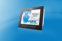 Der neue noax Steel PCAP Touch-Industrie-PC S15P in fein geschliffenem Edelstahl V2A Gehäuse – extern zertifiziert bis zur Schutzklasse IP69K.