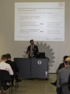 Christoph Neuberg, Geschäftsführer Industrie/Außenwirtschaft der IHK Chemnitz