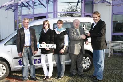 WORTMANN AG übergibt zwei weitere Caddys