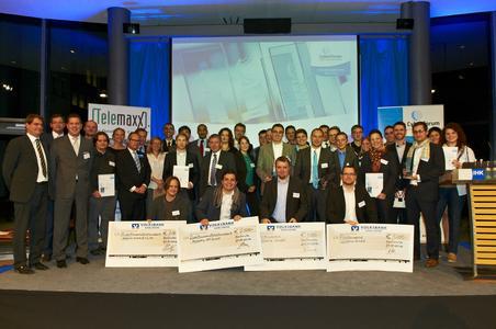 Die Gewinner und Finalisten des CyberChampions Award 2012 (Foto: Björn Pados)