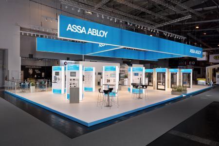 ASSA ABLOY zeigte bei der Security Essen 2018 neue Produkte rund um das Thema Zutrittskontrolle via Smartphone / Foto: ASSA ABLOY Sicherheitstechnik GmbH