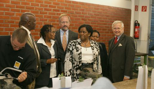 Besuch aus Botsuana in der GLW Siegburg