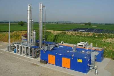 Wird der Ausbau der Biogas-Aufbereitung durch das KWK-Gesetz eher gebremst oder gefördert? (Quelle: Haase Energietechnik AG)