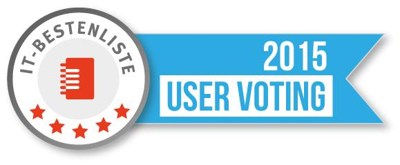 IT-Bestenliste User Voting 2015