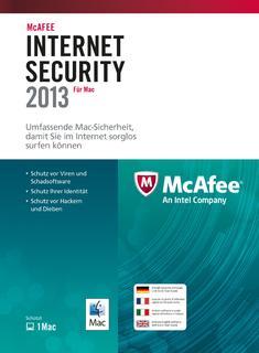 Ebenfalls neu bei Avanquest: Internet Security 2013 (McAfee)