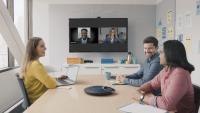 Mit BlueJeans Gateway können Teams-Nutzer von jedem vorhandenen Raumsystem aus auf Videokonferenzen zugreifen