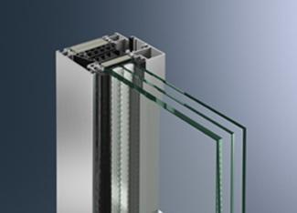 Blockfenstersystem Schüco AWS 90 BS.SI+ mit Energieeffizienz auf Passivhausniveau.