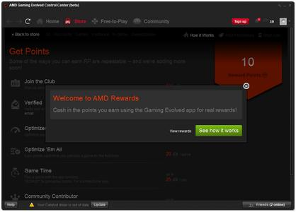 AMD Embraces Gamers with AMD Rewards Program