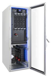 Supercap-System bestehend aus USV-Anlage mit 75kW n+1 und Supercap-Energiespeicher