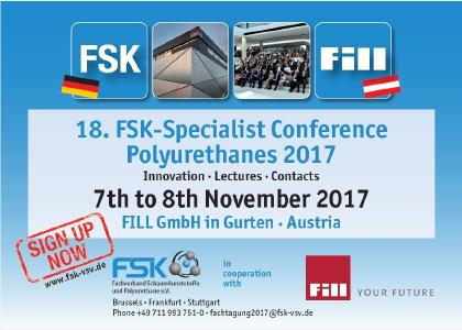 FSK Specialist Conference Polyurethanes 2017