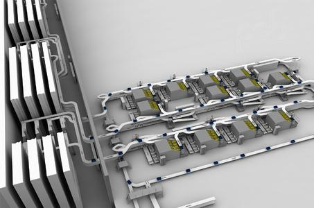 The psb concept is based on a material flow process without transfer crossovers